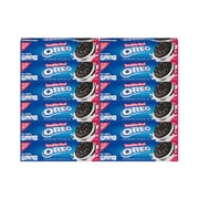 OREO Double Stuff Chocolate Sandwich Cookies, 5.6 oz, 12 Count (304-00096)