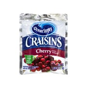 OCEAN SPRAY Craisins Cherry Flavored Dried Cranberries, 1.16 oz, 200 Count (307-00077)