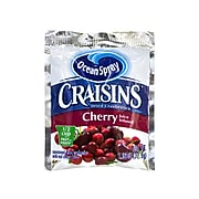 OCEAN SPRAY Craisins Cherry Flavored Dried Cranberries, 1.16 oz, 200/Pack (307-00077)