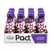 Ocean Spray Pact Cranberry Raspberry Infused Water, 16 oz, 12/Pack (307-00090)