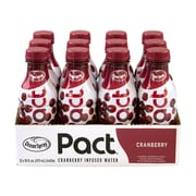 Ocean Spray Pact Cranberry Infused Water, 16 oz, 12/Pack (307-00092)