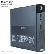 Lenovo ThinkCentre M93P Desktop Computer, Intel Core i7-4765T, 8GB DDR3, 360GB SSD, Tiny Desktop, Refurbished (EN/ESP)