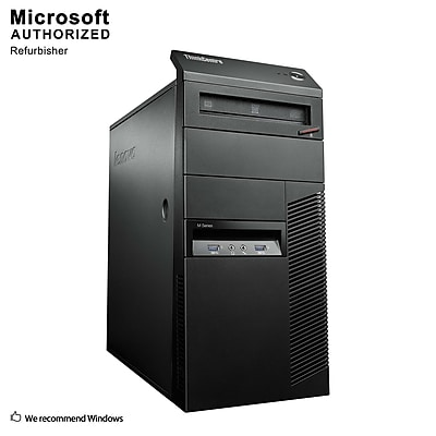 Lenovo ThinkCentre M93P Desktop Computer, Intel Core i5-4570, 16GB DDR3, 360GB SSD, Tower, Refurbished (EN/ESP)