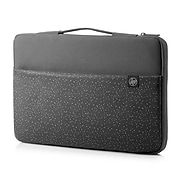 """HP Carry Laptop Sleeve for 15.6"""" Laptops, Black (1PD64AA#ABL)"""