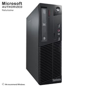 Lenovo ThinkCentre M79 Desktop Computer, AMD A4-6300B, 8GB DDR3, 240GB SSD, Small Form Factor, Refurbished (EN/ESP)