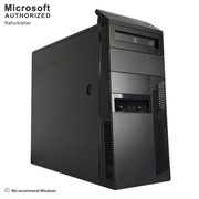 Lenovo ThinkCentre M81 Desktop Computer, Intel Core i3-2100, 12GB DDR3, 120GB SSD+3TB HDD, Tower, Refurbished (EN/ESP)