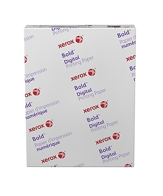 Xerox® Bold Digital™ Coated Gloss Printing Paper, 20 lb. Text, 94 Bright, 8.5