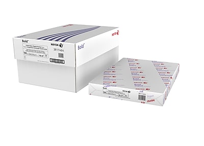 Xerox® Bold Digital™ Coated Gloss Printing Paper, 100 lb. Cover, 94 Bright, 18