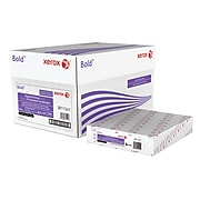"Xerox® Bold Digital™ Printing Paper, 24 lb. Text, 98 Bright, 3 Punch, 8.5"" x 11"", 5000/Carton (3R11541)"