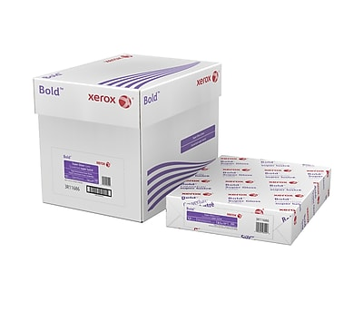 """Xerox® Bold Digital™ Super Gloss Cover, 12 pt. Cover, 92 Bright, 8.5""""x11"""", Carton (3R11686)"""