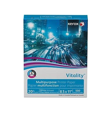 Xerox® Vitality® Multipurpose Printer Paper, 20 lb., 92 Bright, 8.5