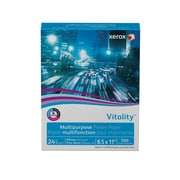 """Xerox® Vitality® Multipurpose Printer Paper, 24 lb., 92 Bright, 8.5""""x11"""", Ream (3R2531)"""