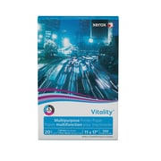 "Xerox® Vitality® Multipurpose Printer Paper, 20 lb., 92 Bright, 11""x17"", Ream (3R3761)"