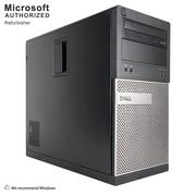 Dell OptiPlex 390 Desktop Computer, Intel Core i3-2120, 8GB DDR3, 360GB SSD, Tower, Refurbished (EN/ESP)