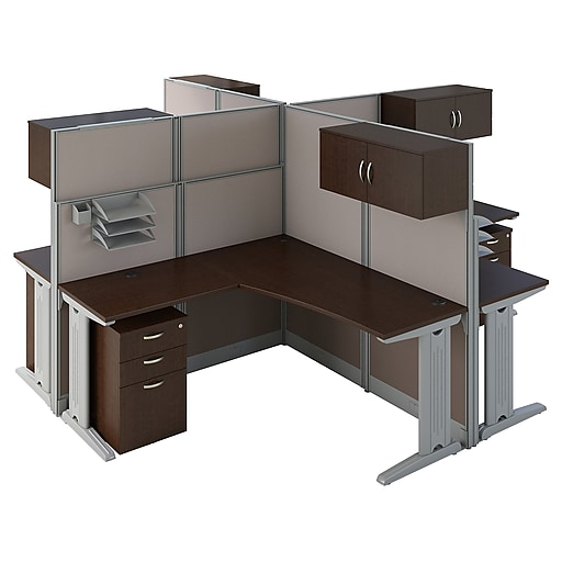 Office Table For 4 Person: Shop Staples For Bush Business Furniture Office In An Hour