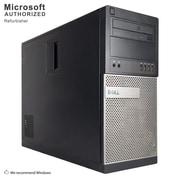 Dell OptiPlex 990 Desktop Computer, Intel Core i5-2400, 16GB DDR3, 360GB SSD, Tower, Refurbished (EN/ESP)