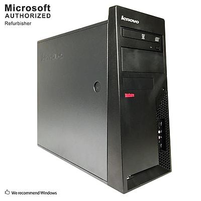 Lenovo ThinkCentre M57 Desktop Computer, Intel Core 2 Duo E7500, 4GB DDR2, 250GB HDD, Tower, Refurbished (EN/ESP)
