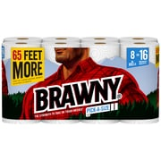 Brawny® Pick-a-Size® Paper Towels, 2-Ply, 8 XL Rolls/Pack (441375)