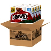Brawny® Pick-a-Size® Paper Towels, 2 Ply, 12 XL Rolls/Carton (44153)