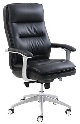 Beautyrest Platinum Sofil Executive Chair, Black (49404B)