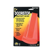Master Giant Foot Rubber Doorstop, Orange, Each (00965)
