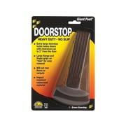 Master Giant Foot Rubber Doorstop, Brown, Each (00964)