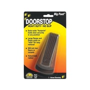 Master Big Foot Vulcanized Rubber Stop, Brown, Each (00920)