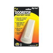 Master Big Foot Vulcanized Rubber Stop, Beige, Each (00900)