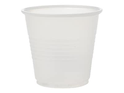 Medline 3.5oz Plastic Disposable Cup, Translucent, 2500/Carton (NON030035)