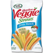 Sensible Portions All Natural Zesty Ranch Garden Veggie Straws, 1 oz., 30/Pack
