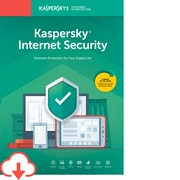 Kaspersky Internet Security for 3 Devices, 1 Year, Windows, Download (KL1939ADCFS-USO)