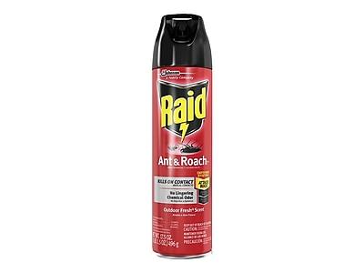 Raid Ant & Roach Killer 26 Aerosol for Ants & Roaches, Outdoor Fresh Scent, 17.5oz