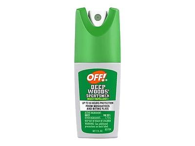 OFF! Deep Woods Sportsmen I Spray for Mosquitos, Odorless, 1oz