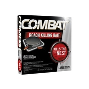 Combat Source Kill 2 Bait for Roaches, Odorless, 0.49oz, 8/Box