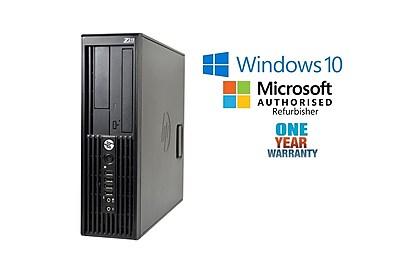 HP Workstation Z210 Desktop Computer, Intel® Core™ i7-2600 3.4GHz, Small Form Factor, Refurbished