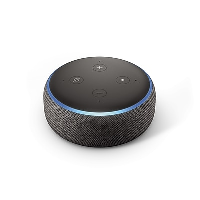 Amazon Echo Dot (3rd Generation), Charcoal (B0792KTHKJ)
