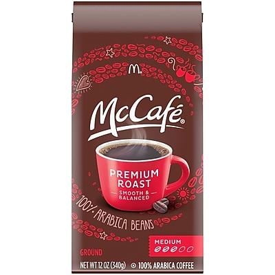 McCafé Premium Roast Ground Coffee, 12 oz. Bag (00430000609000)