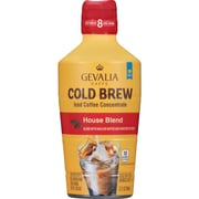 Gevalia Kaffe Cold Brew Concentrate House Blend, 32 oz. Bottles (Pack of 4) (GEN07118)