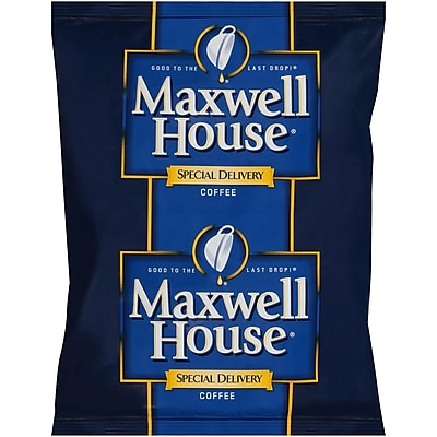 Maxwell House Special Delivery Coffee, 1.2 oz. Filter Packs (Pack of 42) (GEN862400)
