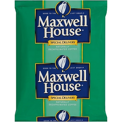 Maxwell House Special Delivery Decaf Coffee, 1.3 oz. Filter Packs (Pack of 42) (885900)