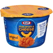 Kraft® Easy Mac Original Macaroni & Cheese Dinner, 2.05 oz. Microwavable Tubs, 10/Carton (01641)