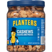 Planters Salted Cashew Halves & Pieces, 26 oz. Jar (01858)