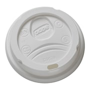 Dixie® WiseSize™ Dome Lids for Hot 8 Oz. Cups, White, 10 Pack of 100 (9538DX)