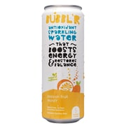 Bubbl'r Antioxidant Sparkling Water, Passion Fruit Wond'r, 12 oz. Can, 12/Pack (WIC39922)