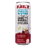 Bubbl'r Antioxidant Sparkling Water, Pomegranate Acai Refresh'r, 12 oz. Can, 12/Pack (WIC39920)