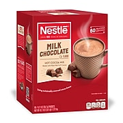 Nestle Milk Chocolate Hot Cocoa Mix, .71 oz., 60/Box (NES26791)