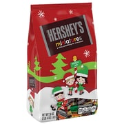 Hershey Holiday Assorted Miniature Chocolate Bars, 36 Ounce Bag (HEC21610)