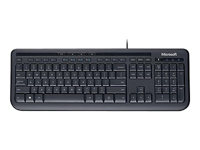 Microsoft 600 Wired Gaming Keyboard, Black (ANB-00001)