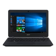 "Acer® TravelMate B TMB117-M-C9GH 11.6"" Notebook, LCD, Intel Celeron N3160, 128GB, 4GB, Windows 10 Pro, Black"