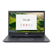 "Acer™ 14 CP5-471-35T4 14"" Chromebook, LCD-LED, Intel i3-6100U, 32GB Flash, 4GB RAM, Chrome, Black/Silver"